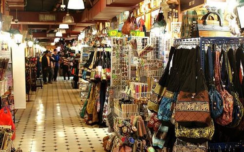 السوق المركزي في كوالالمبور ماليزيا