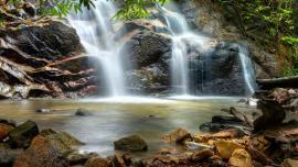 شلالات روانج - في ماليزيا