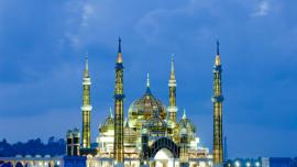 المسجد الكريستالي  - في ماليزيا