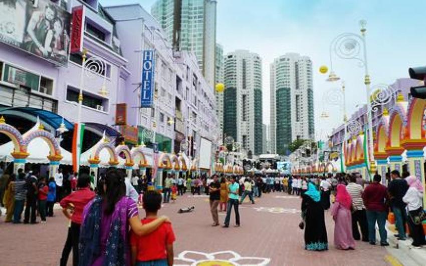 حي الهند الصغير بريكفايلدس في كولالمبور ماليزيا