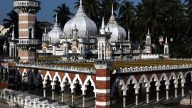 المسجد الجامع فى كوالالمبور (مسجد جامك) - في ماليزيا