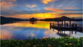 منتزه وتلاندز بتروجايا - في ماليزيا