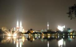 حديقة وبحيرة تيتي وانجسا  - في ماليزيا