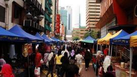 شارع توانكو عبدالرحمن - كوالالمبور - في ماليزيا