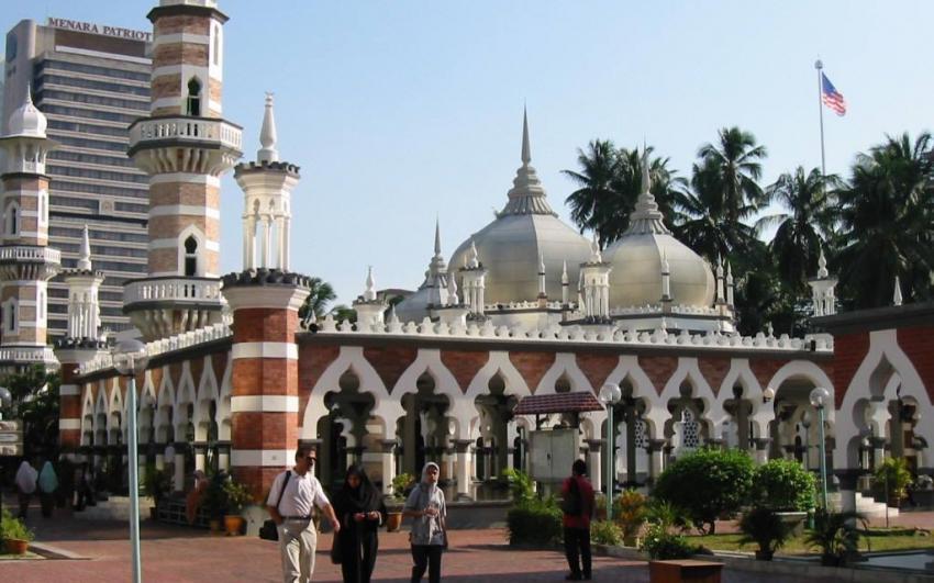 المسجد الجامع فى كوالالمبور (مسجد جامك)