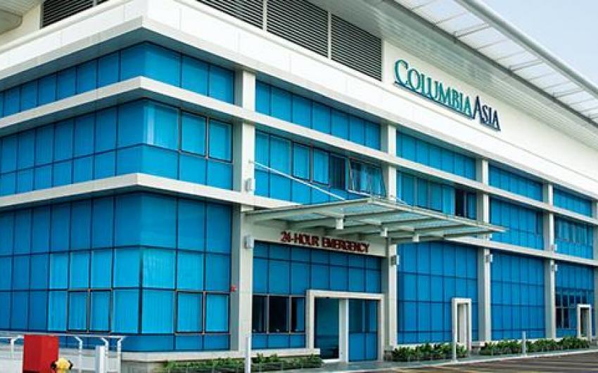 المستشفيات في ماليزيا