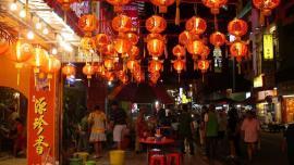 السوق الصيني – كولالمبور ماليزيا  - في ماليزيا