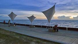 شاطئ باجان لالانج  - في ماليزيا