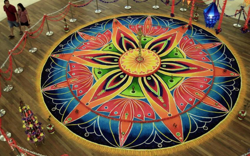 عيد ديوالي أو ديفالي الهندي في ماليزيا