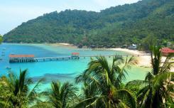 جزيرة تيومان - في ماليزيا