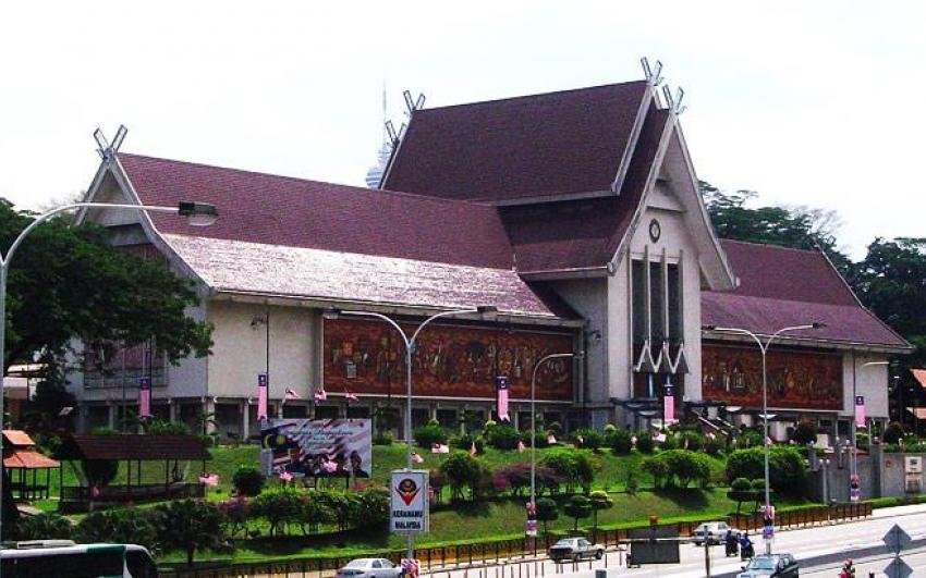 الاماكن السياحية في كوالالمبور المتحف الوطني الماليزي